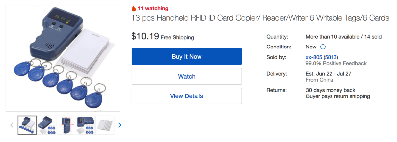 How to Clone an RFID Key Card for Less Than $11 – And How to Defend