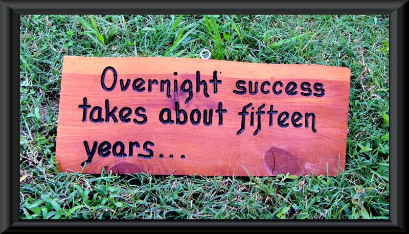 Image result for Overnight success