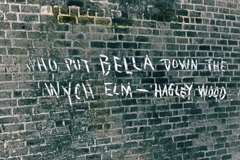 One of the first pieces of graffiti was found around Christmas 1943