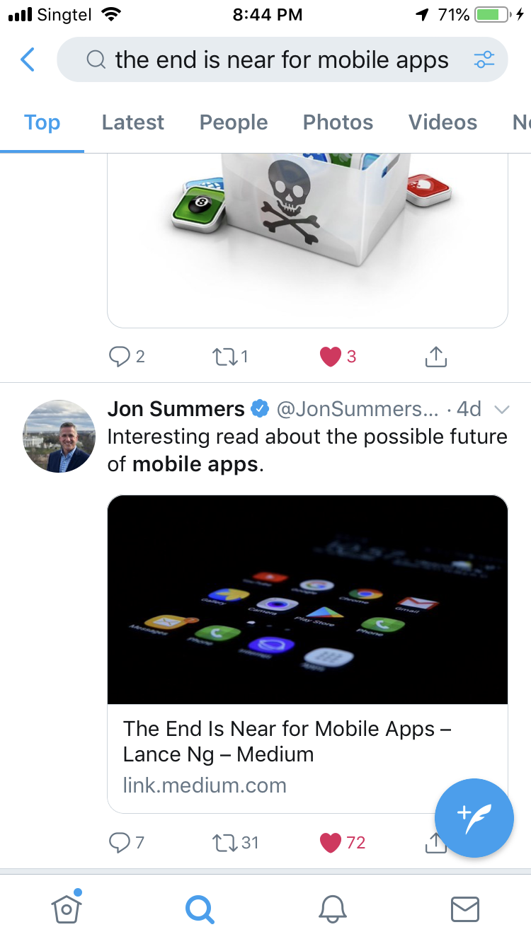 the end is near for mobile apps member feature stories medium