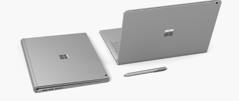 "The ""new"" Microsoft Surface Book (2017)"