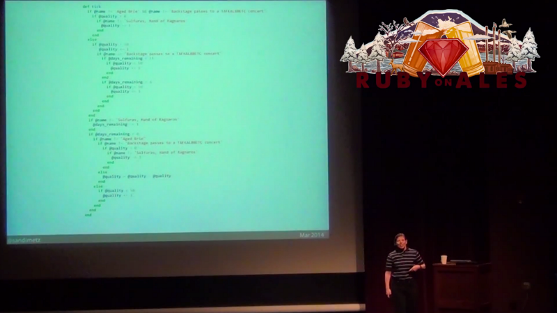 All The Little Things by Sandi Metz, Rails Conf 2014