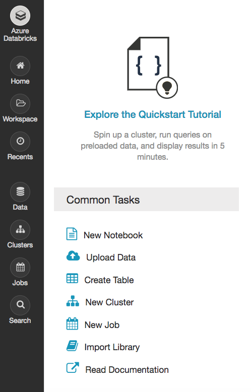 Get started with Apache Spark and TensorFlow on Azure Databricks