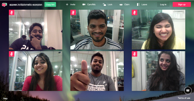 Video Conferencing with Flock
