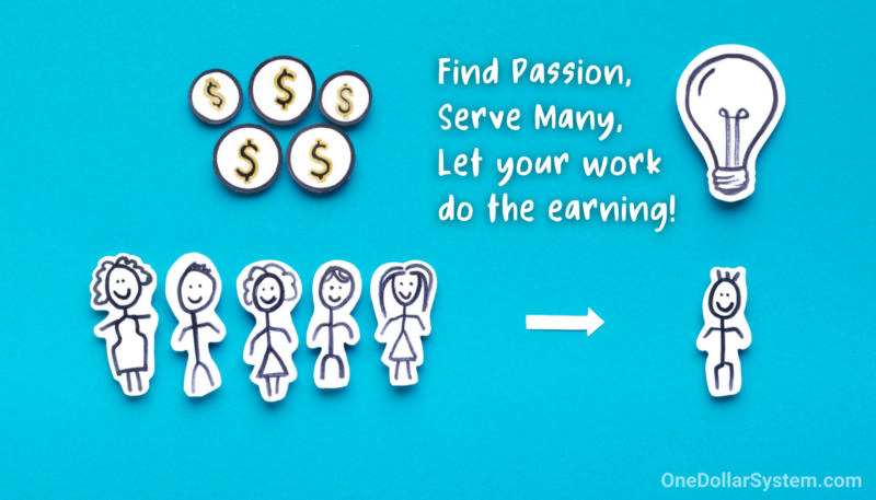Find Passion, Serve Many, Let your work do the earning! (onedollarsystem.com)