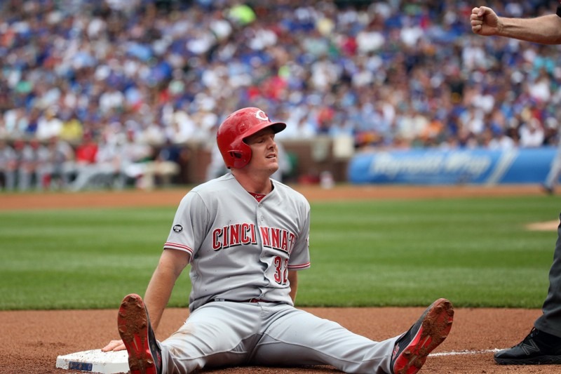 Reds' slugger Jay Bruce on way to Mets
