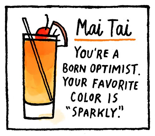 What Your Favorite Drink Says About You. Unlock The Secrets Of Your  Personality , With Cocktails!