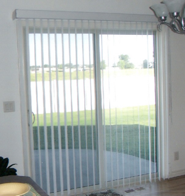 How To Hang Sliding Glass Door Blinds Blake Lockwood