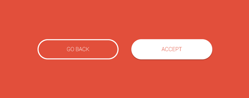 Primary & Secondary Action Buttons
