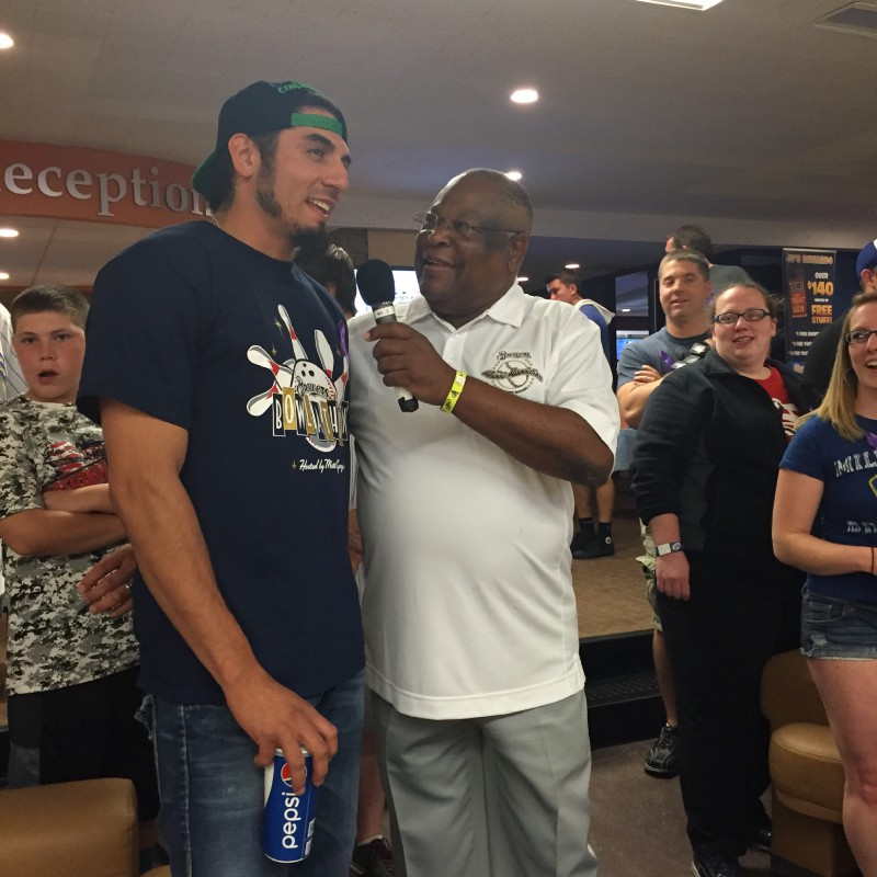 Fans Have A Ball At The Brewers Bowl-A-Thon