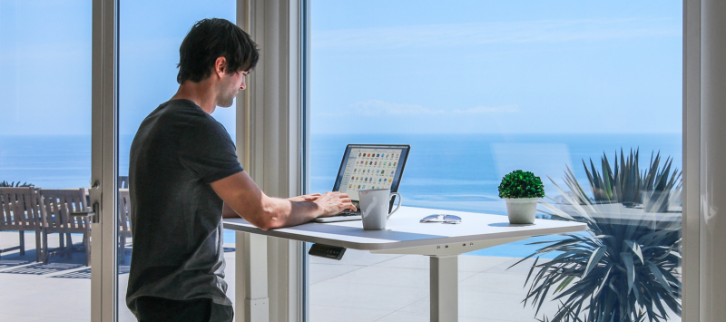 Desk Jobs Don't Necessarily Mean Sitting All Day