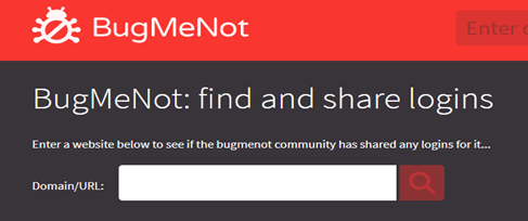 bugmenot.com which is a website help you finding a web blog post content just by entering the link into its search box