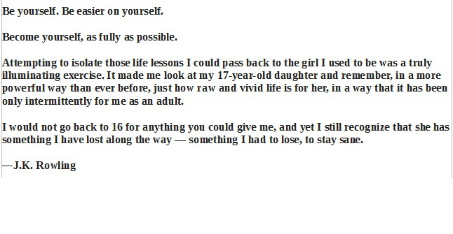 letter to daughter what would you write to a 16 year self so you 23192