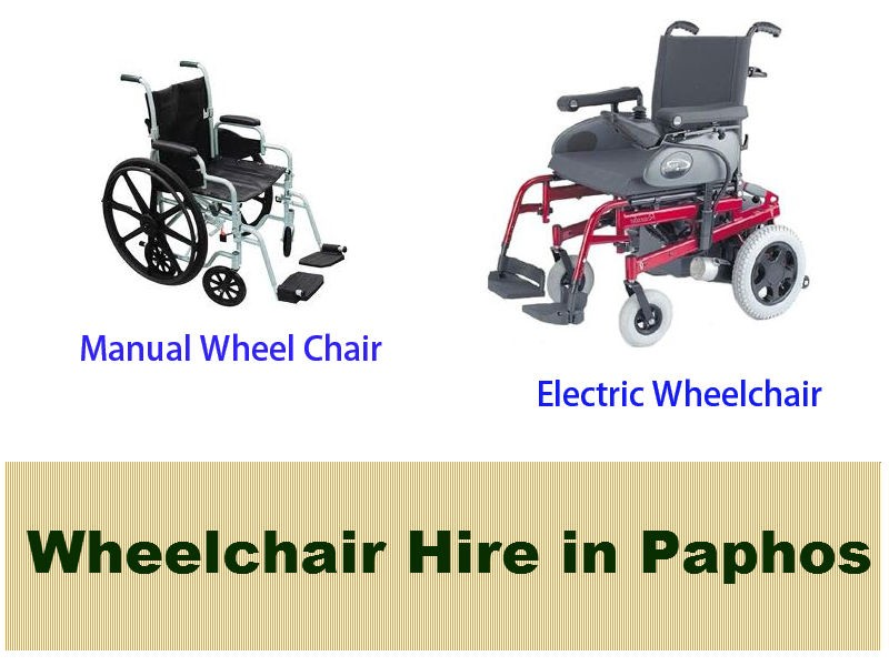 Wheelchair Hire in Paphos – Mobility Equipment Hire D – Medium
