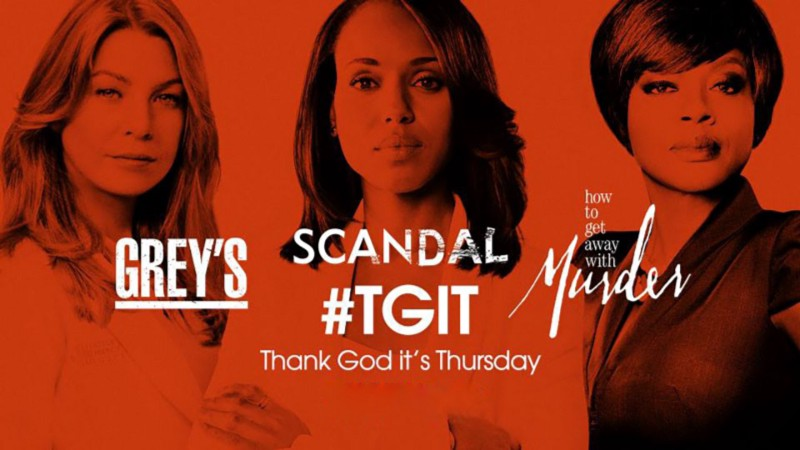 Grey's Anatomy, Scandal and How to Get Away with Murder