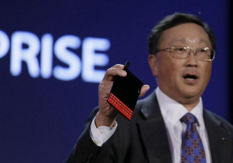 BlackBerry CEO Confirms Assisting Law Enforcement Agency