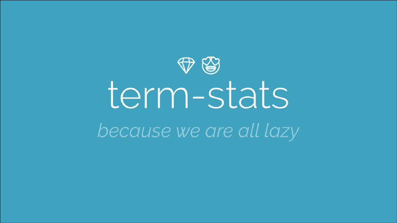 term-stats demo