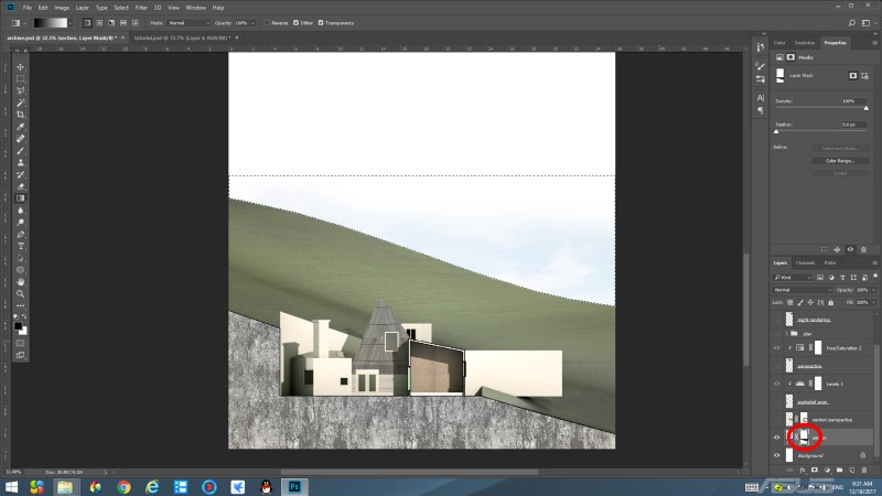architecture presentation board layout techniques in photoshop
