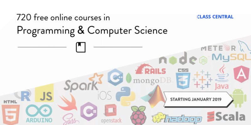 720 Free Online Programming & Computer Science Courses You Can Start in January
