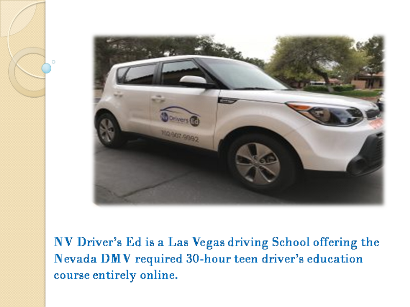 is drivers ed required in nevada