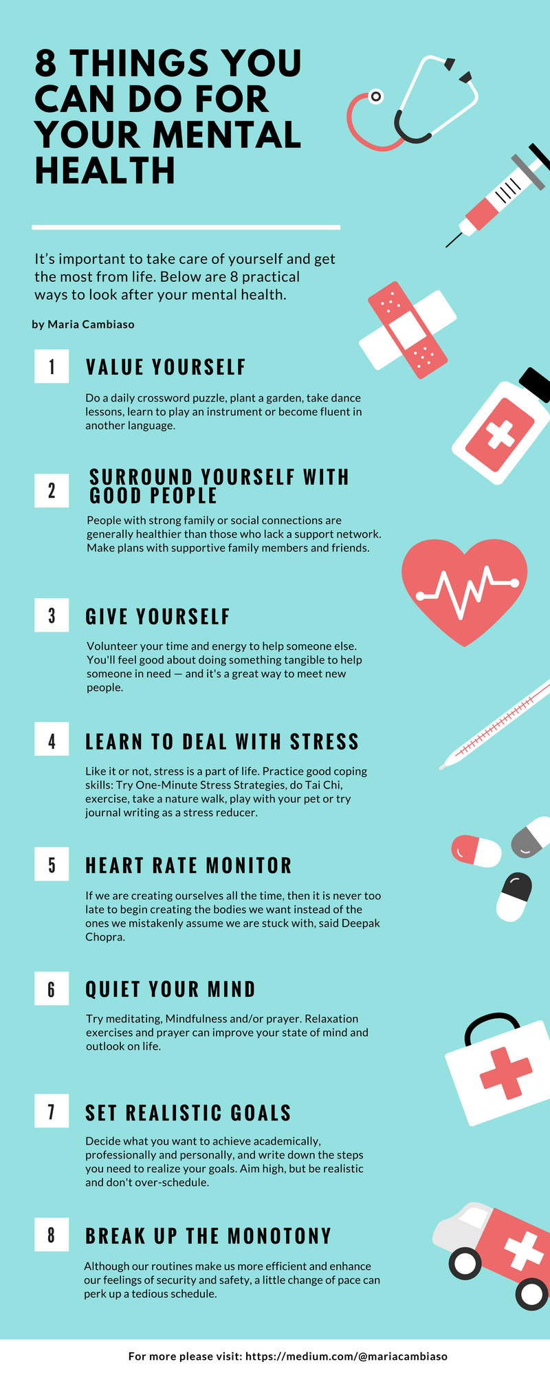 Maria Cambiaso How To Take Care Of Your Mental Health