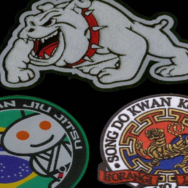 Custom Embroidered Patches Advantage Embroidery Medium