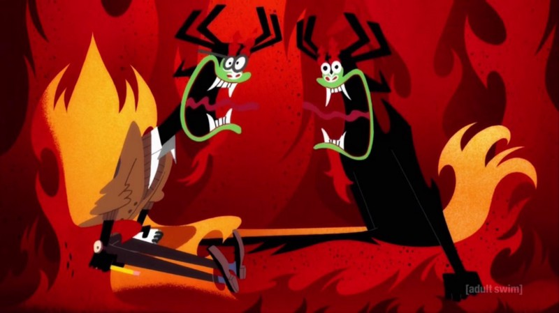 In The Beginning There Was Magic Original >> Samurai Jack's New Aku Greg Baldwin Discusses Taking on ...