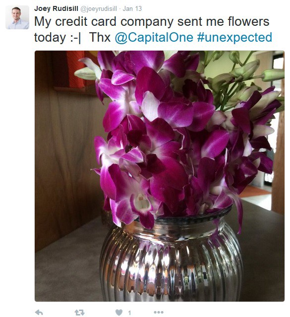 Capital One Customer Service Rep Sends Flowers to Customer, She's ...