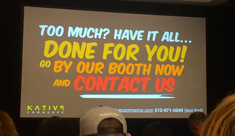 Perry Belcher Slide from Digital Marketer's Traffic and Conversion Summit 2017