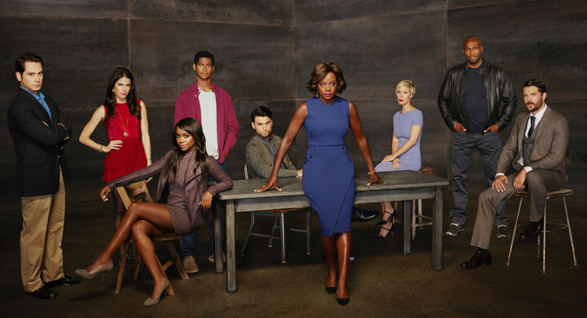 "The cast of ""How to Get Away with Murder."" (ABC)"