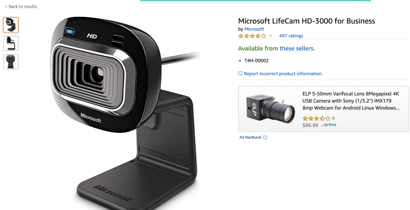 Microsoft lifecam is also recommended for your Salesforce Certification exam