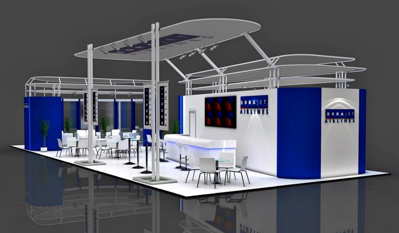 SetUp Point Exhibition Booth Design in Istanbul