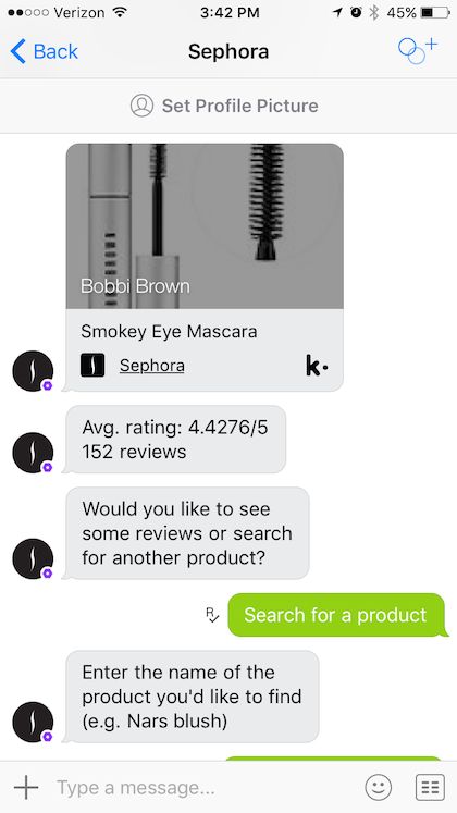 Sephora Fashion Chatbot