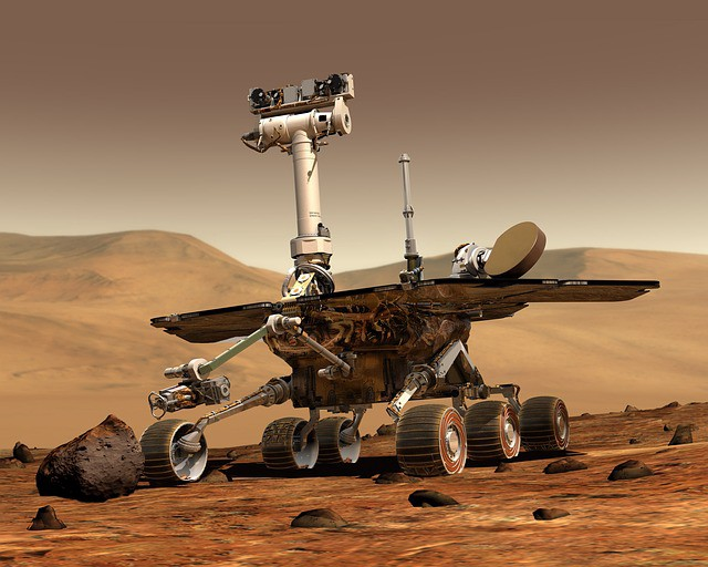 Mars Rover space travel robot