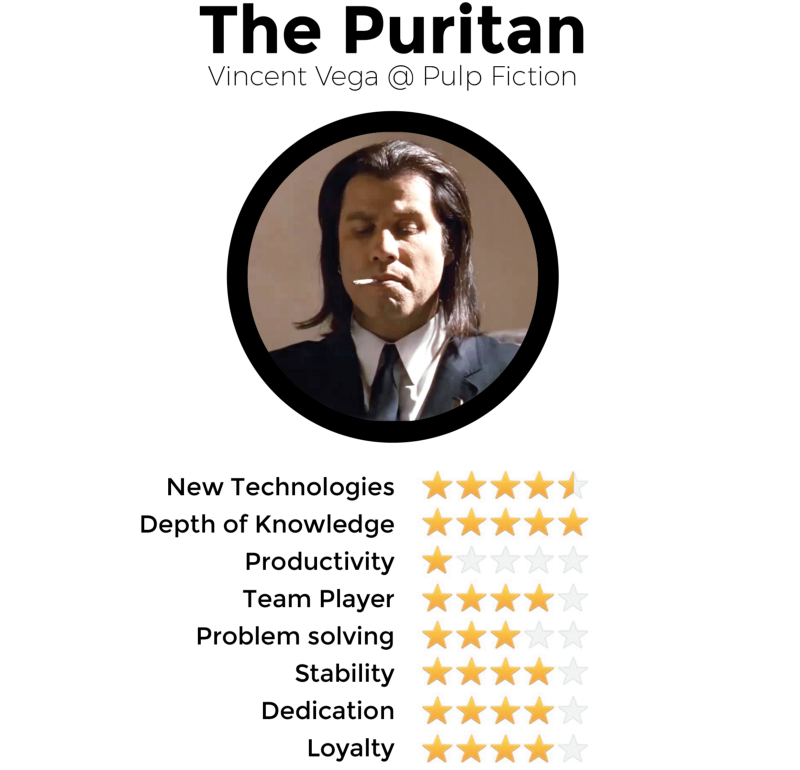 Types of Developers You're Likely to Find #10: The Puritan