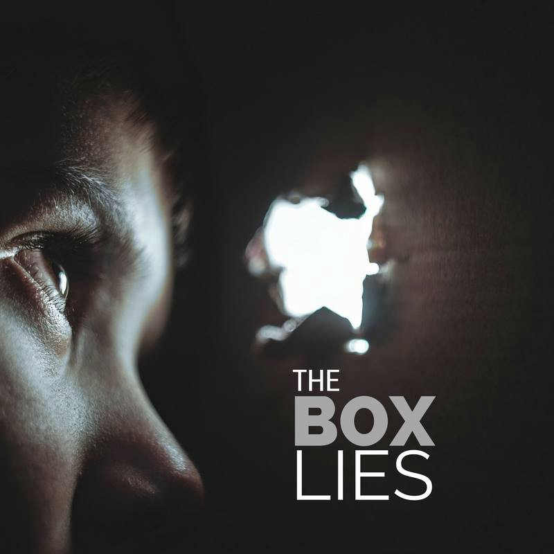 the box lies movie poster