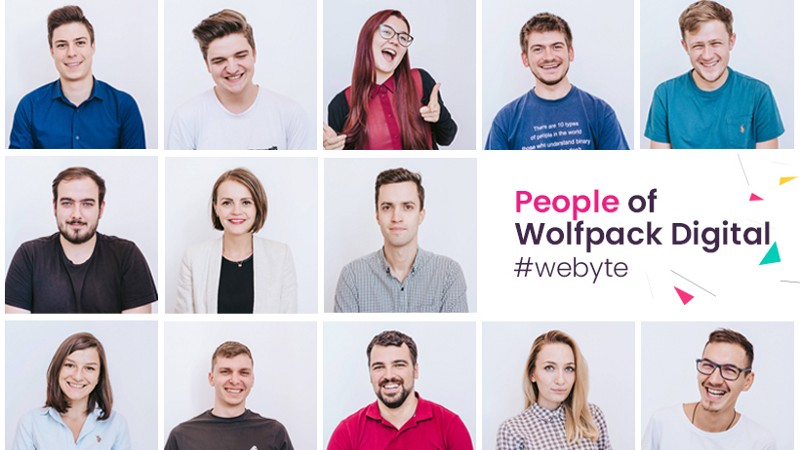 people of Wolfpack Digital, the team of professionists
