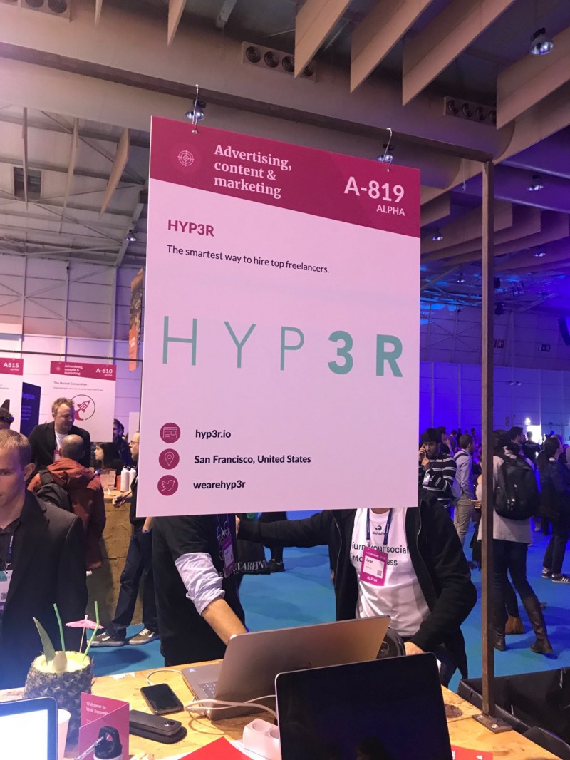 Hyp3r, startup from US at Web Summit 2018