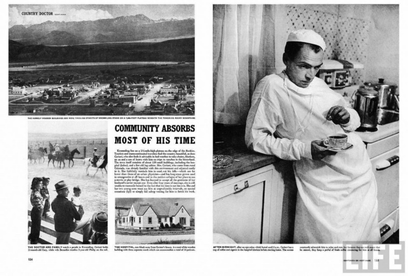 country doctor photo essay Original life magazine for sale featuring w eugene smith's photo essay documenting the country doctor, an intimate portrait of life and death in the a small rural.