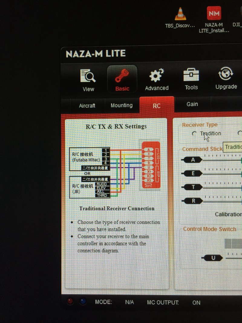 Lipo Hell Grantmichaels Medium Naza M Lite Wiring Diagram Also I Decided This Afternoon To Download The Nazas Software Based Programming Application And See If It Would Install On My Xp Cad System