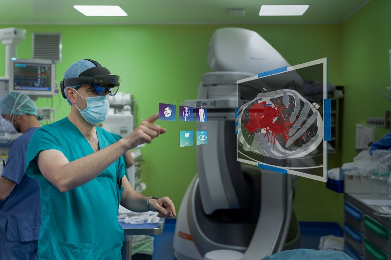 microsoft hololens2 for surgery