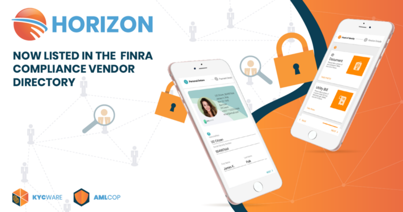 Horizon listed in the FINRA Compliance Vendor Directory