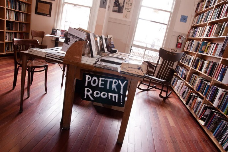 (Picture of City Lights Poetry Room by Karsten Lemm)