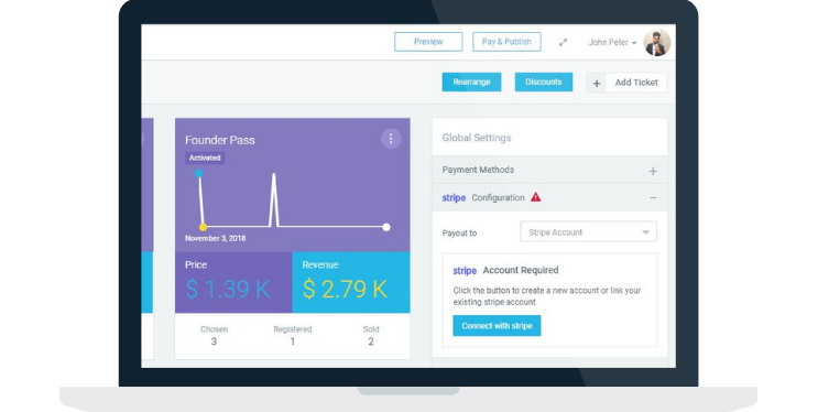 event ticketing, Hubilo's Online Event Ticketing Platform, Now Integrated withStripe