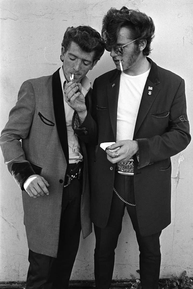 Teddy Boys hated punks because they stole their look | photos by Chris  Steele-Perkins