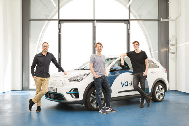 Co-founders of Vay