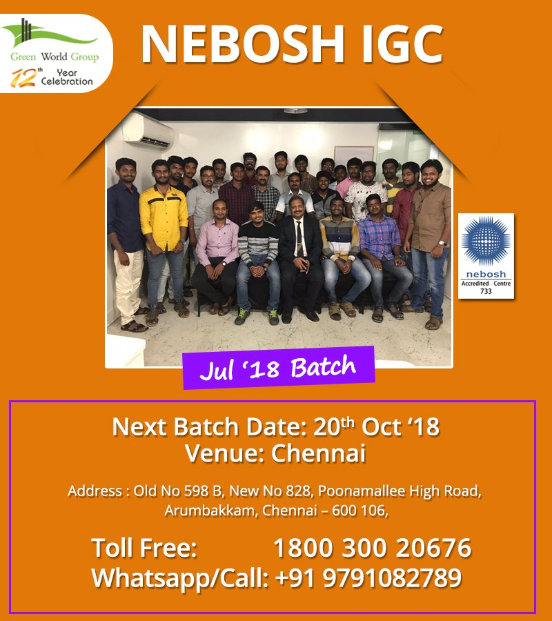 Why Choose Gwg Is A Right Choice Take Nebosh Course In Chennai