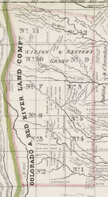 Mapping Texas: From Frontier to the Lone Star State—Map of Texas ...