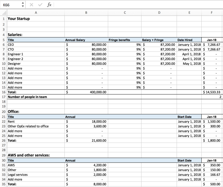 Pricing Model Excel: Excel For Startups: Simple Financial Models And Dashboards