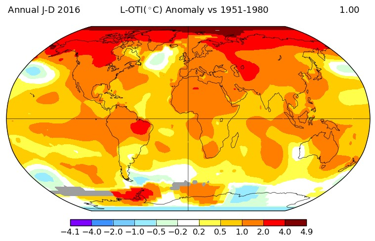 For three years in a row, Earth breaks heat record